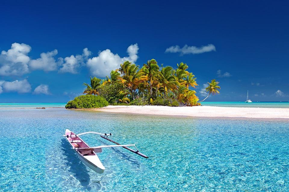 ポリネシア フランス領ポリネシア タヒチ 南の海 島 Fakarava 力 パラダイス 夢
