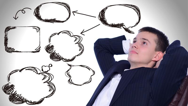 考える人 男性