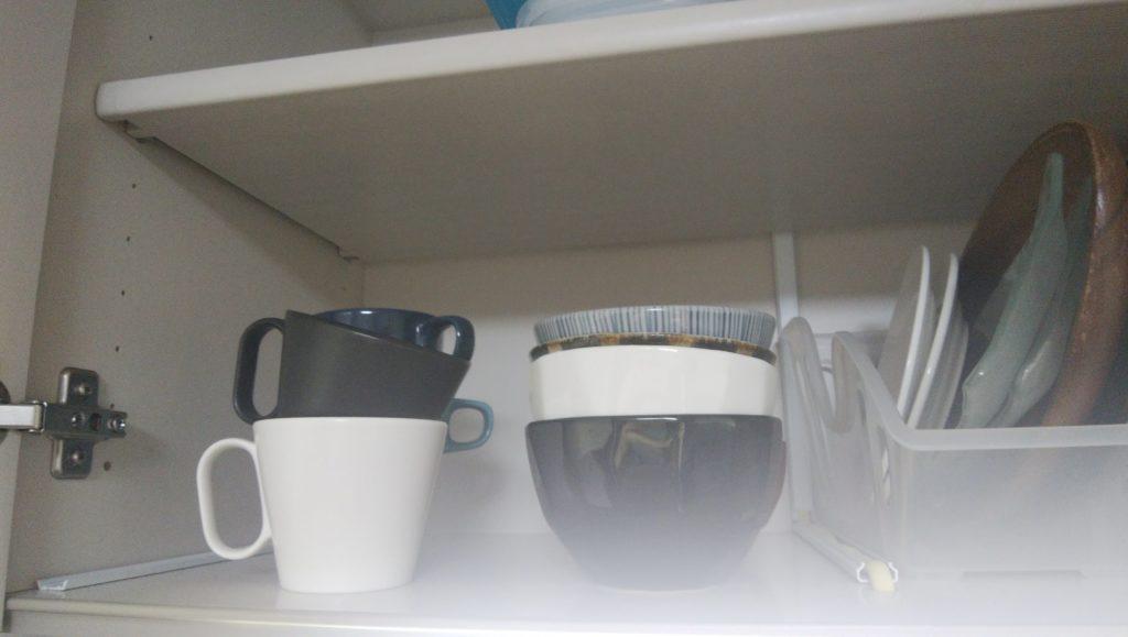 キッチン お椀 茶碗 断捨離