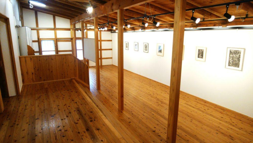 金沢湯涌創作の森 展示スペース