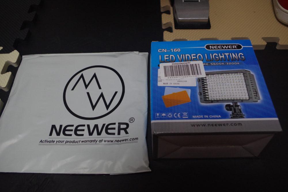NEEWER-CN160とディフューザー