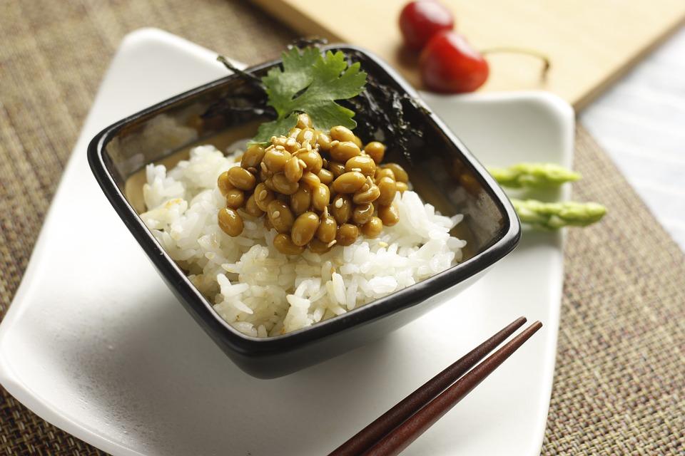 ライス 納豆 食品