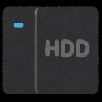 HDDイラスト