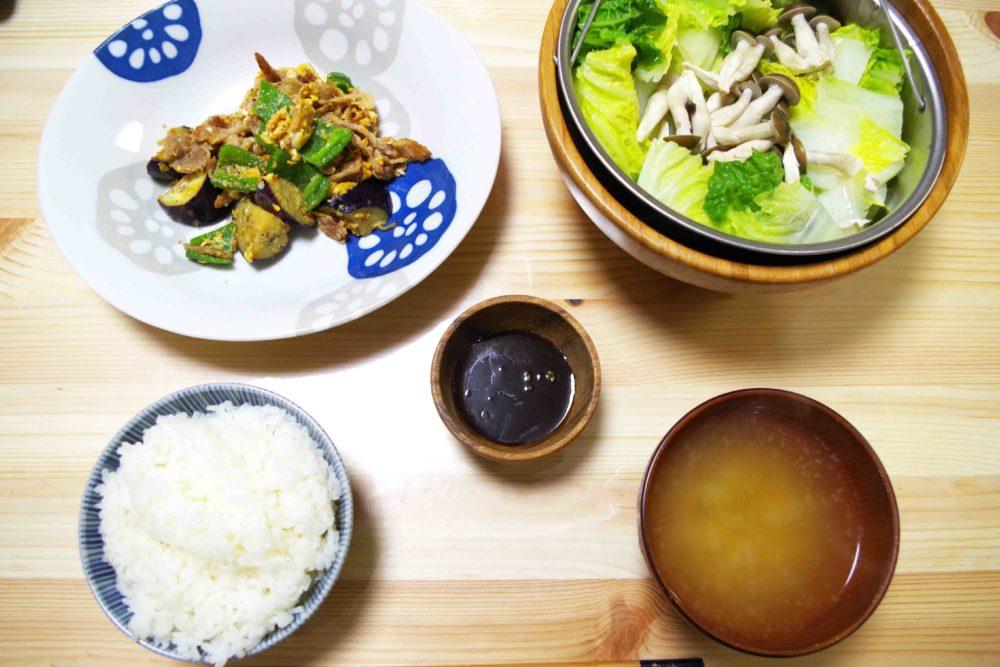 温野菜な食卓
