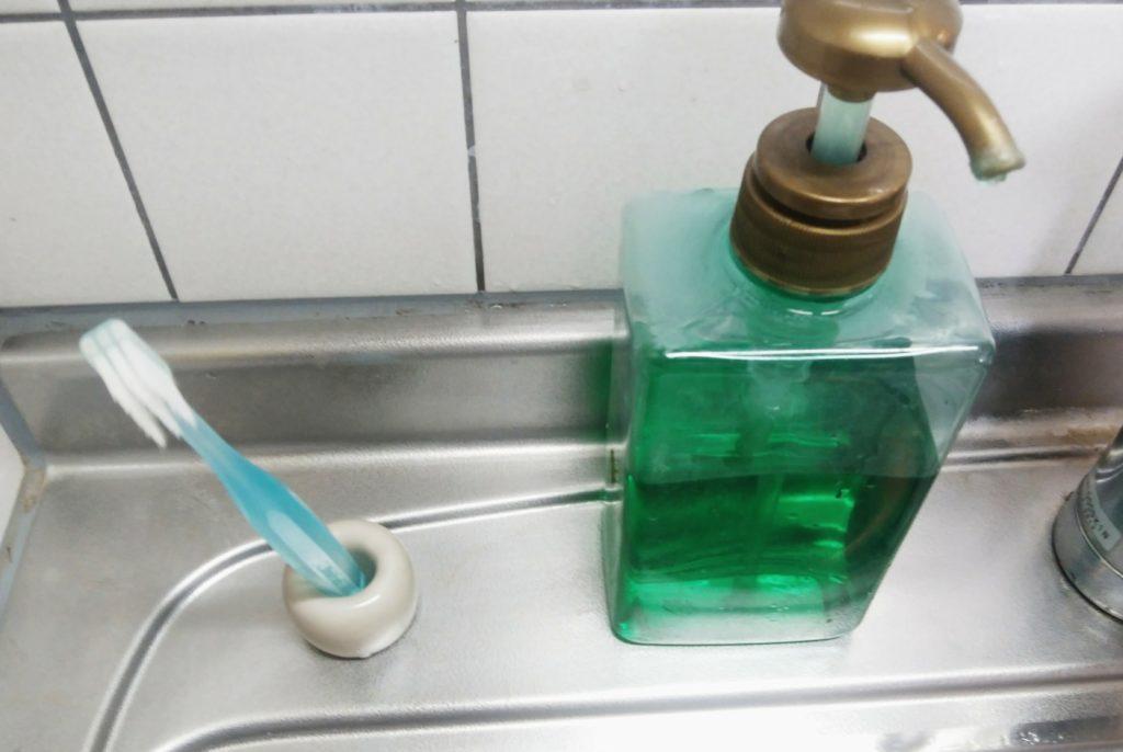 歯ブラシ キッチン 断捨離