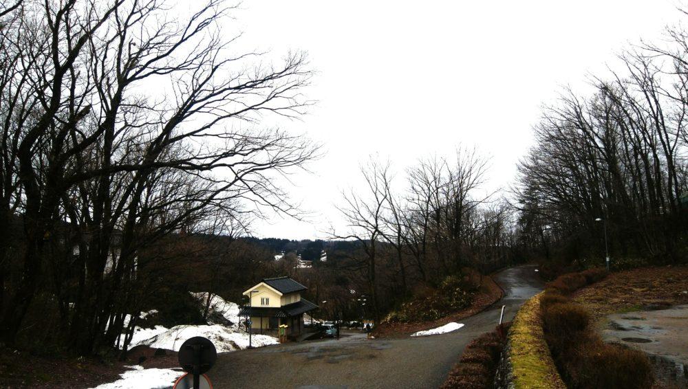 金沢湯涌創作の森 道中