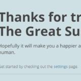 The Great Suspenderのダウンロード完了画面