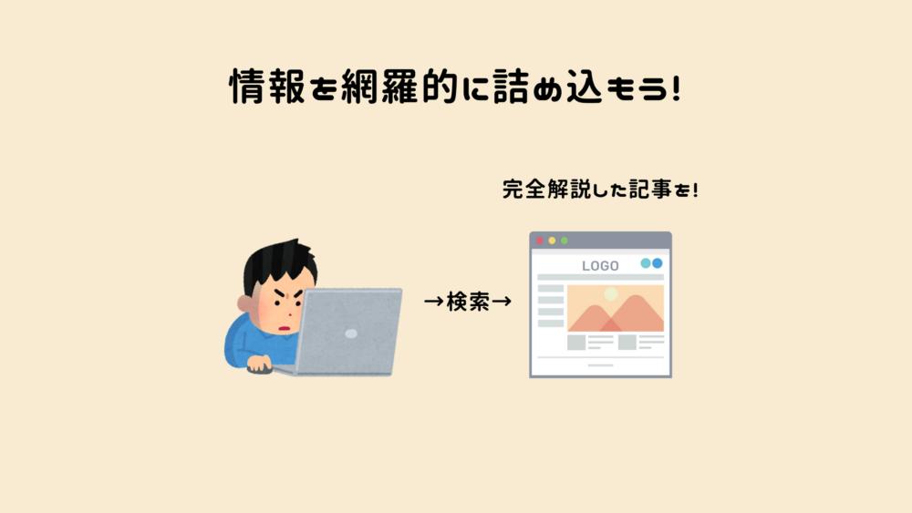 ブログ内容の網羅性と一貫性についての説明