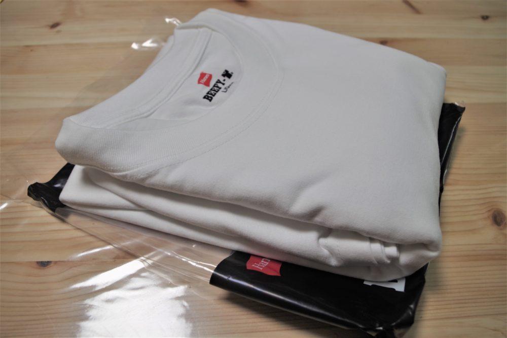 ビーフィーTシャツを袋から出してみた
