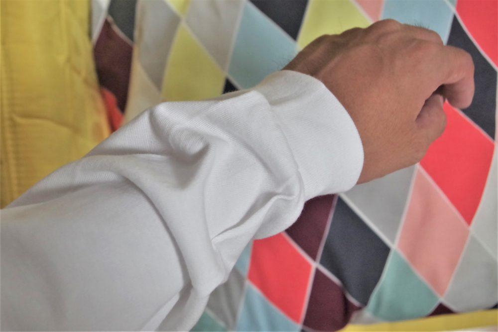 ビーフィーTの袖口・XLサイズ