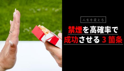 【禁煙7ヶ月達成】禁煙成功の理由3つ→【薬の使用・環境改善・お金の計算】
