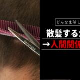 散髪するか否かは人間関係次第