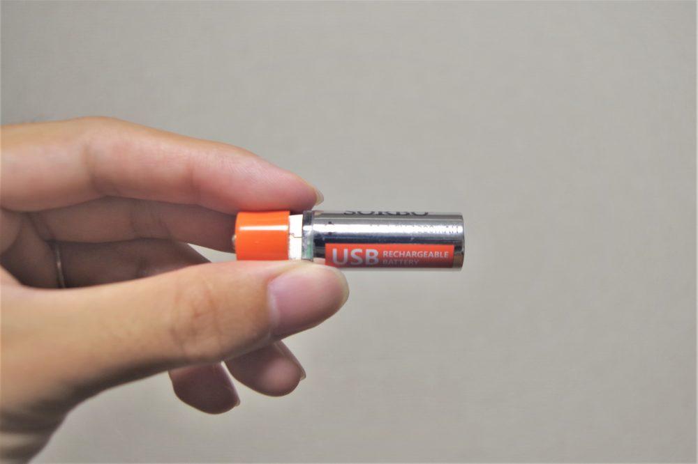 USB単三充電池