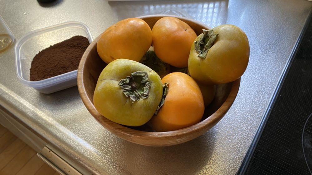 3日目の柿
