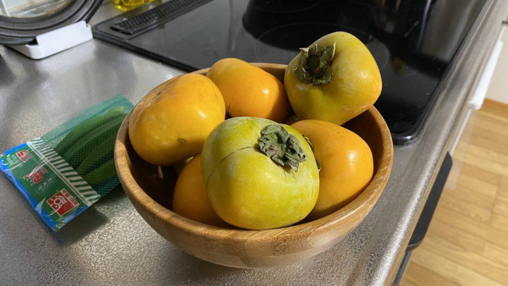 2日目の柿