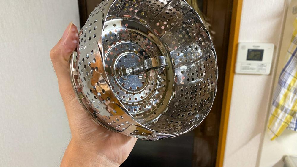 貝印の蒸し器 (4)