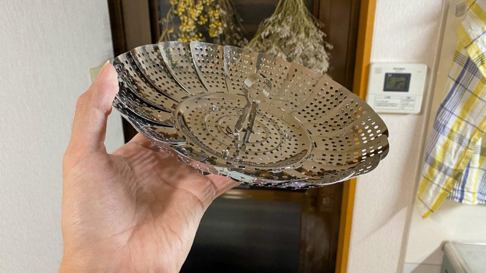 貝印の蒸し器 (5)