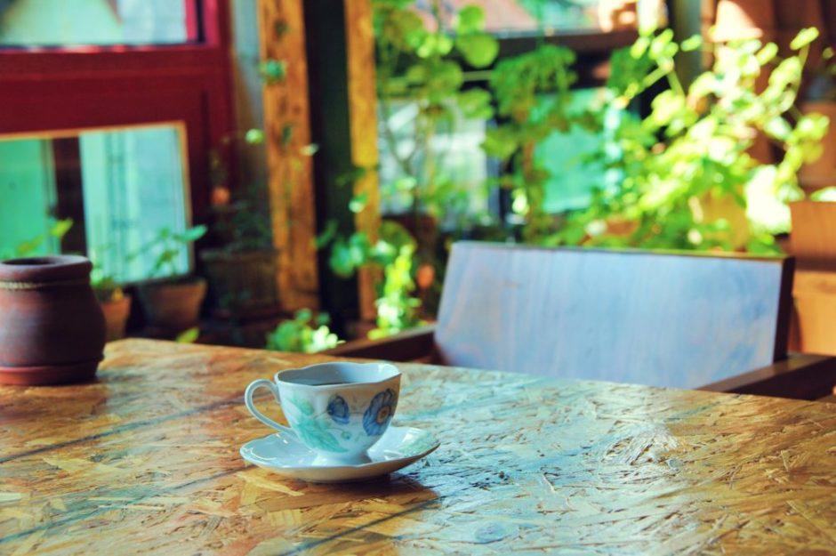カフェ コーヒー 暇