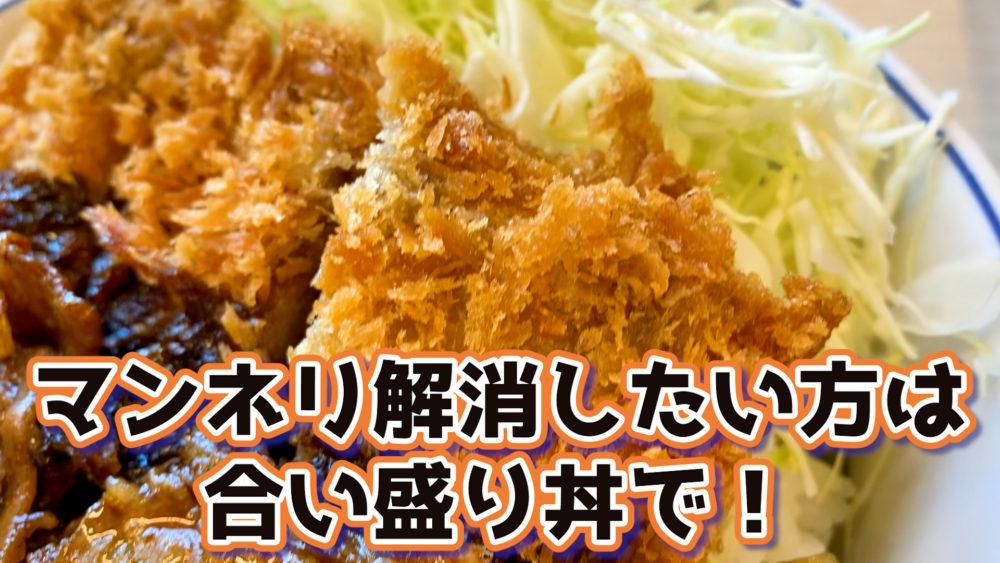 かつや・牛カツ×牛焼肉丼レビュー写真19