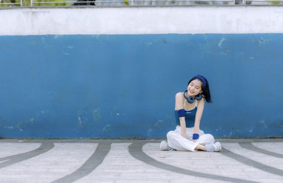 ダンサーの女の子