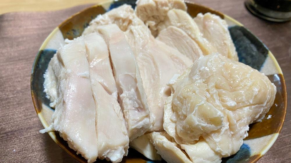 鶏むね肉を炊飯器の保温機能で低温調理 (24)