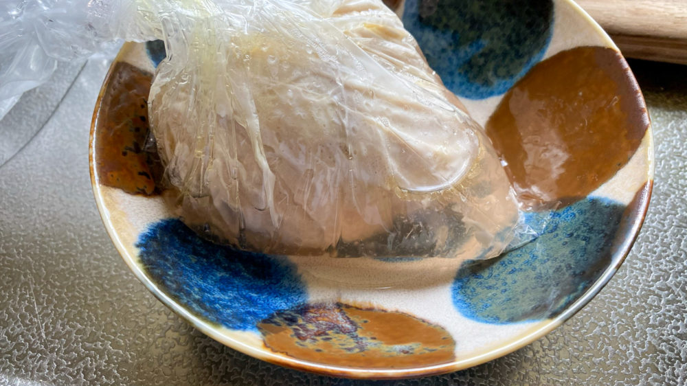 鶏むね肉を炊飯器の保温機能で低温調理 (11)