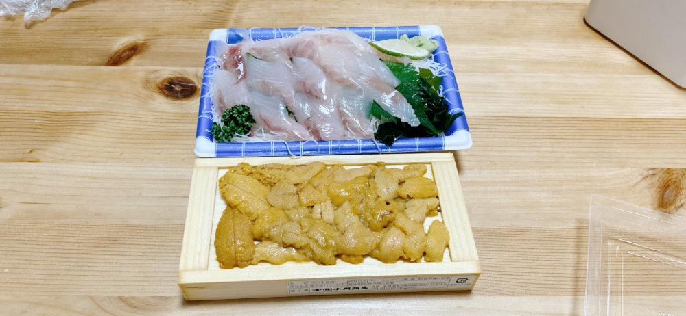 自作海鮮丼