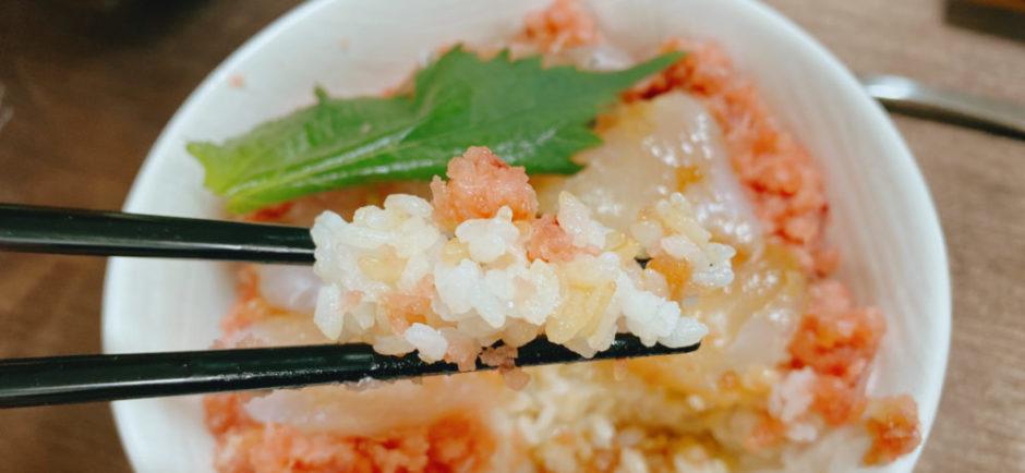 海の幸と酢飯がマッチしている