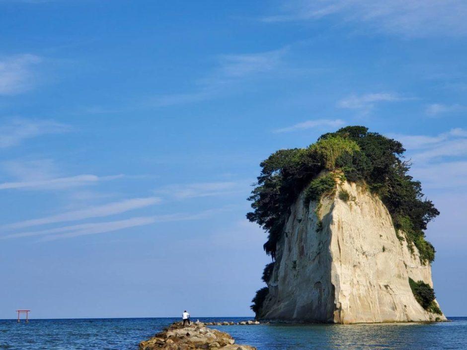 見附島と自分